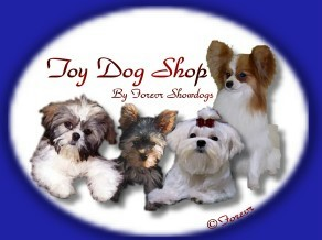 Forevr Show Dogs Small Dog Shop